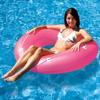 87142 | 47'' Neon Frost Swim Tube - Lifestyle 1