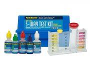 22270 | 5-Way Test Kit - Poly Case