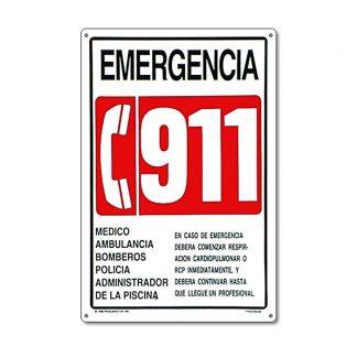 40382 | 12'' x 18'' Emergencia 911