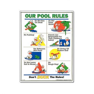 41339   18'' x 24'' Don't Duck the Rules!