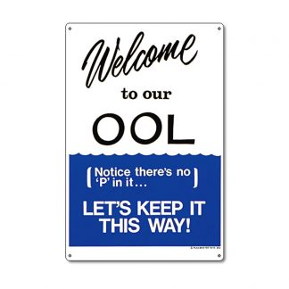 "41352 | 12"" x 18"" Welcome to our OOL"