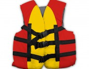 50584-50585 | Coast Guard Approved Swim Vests - Red/Yellow