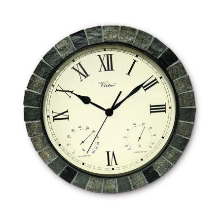 52606   Faux Stone Clock