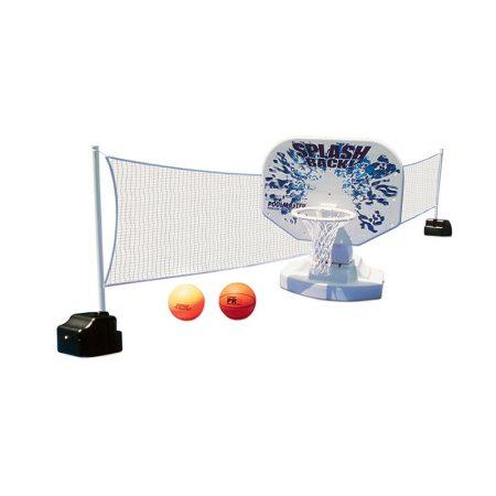 72845 | Splashback™ Poolside Basketball/Volleyball Game Combo