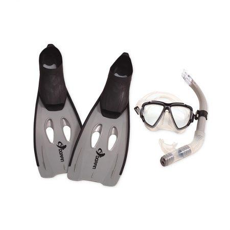 98653-54-55 | Kona Adult Silicone-Pro Snorkeling Set