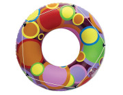 "87148 | 48"" Bright Color Circles Pool Tube"