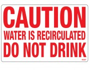 40357 | Water Recirculating Sign