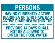40364 | CA Pool Rules Sign