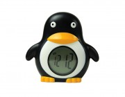 25317 | Floating Penguin Clock Thermometer