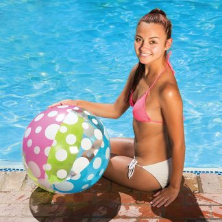 81126 | 24'' Polka Dot Play Ball - Lifestyle