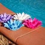 54513 | Set of 4 Floating Lotus Lights - Lifestyle 6