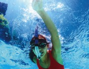 92201 | Head-Mount Training Snorkel - Junior - Lifestyle