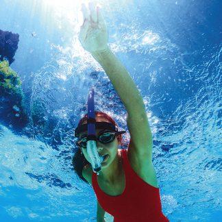 92201   Head-Mount Training Snorkel - Junior - Lifestyle 1