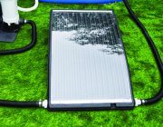 59026 | Slim Line Above Ground Pool Solar Heater - Lifestyle