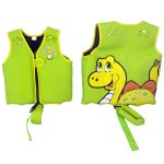 50566 / 50567 | Dino Swim Vest - Front & Back view