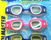 94112   Pool Kids Swim Goggles - 3 Pack