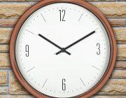 52542 | 16'' Bronze Contemporary Clock - Lifestyle