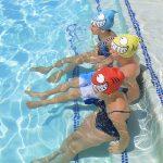 99033   Smiling Piranha Silicone Swim Cap - LS 1