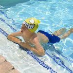 99033   Smiling Piranha Silicone Swim Cap - LS 5