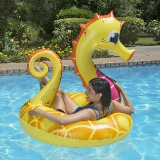 87157 | 48'' Yellow Seahorse Tube - Lifestyle 6