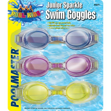94271 | Jr. Sparkle Swim Goggles - 3 Pack