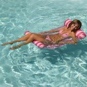70743 | Water Hammock Lounger - LS Pink