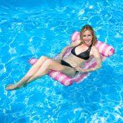 70743 | Water Hammock Lounge - Pink Lifestyle