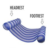 70743 | Water Hammock Lounge - Headrest and Footrest