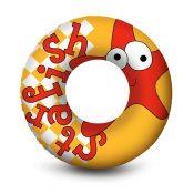 81261 | Under the Sea 24'' Swim Ring - Orange