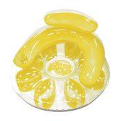 85648 | Water Pop Circular Lounge Yellow