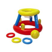 86189 | Water Basketball with Ring Toss Game