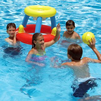 86189 | Water Basketball with Ring Toss Game - Lifestyle