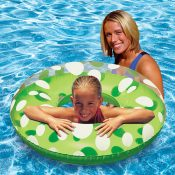 87136 | 36'' Polka Dot Swim Tube - Lifestyle 1