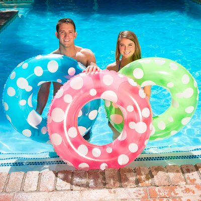 87136 | 36'' Polka Dot Swim Tube - Lifestyle 10