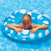 87136 | 36'' Polka Dot Swim Tube - Lifestyle 2