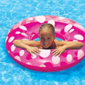 87136 | 36'' Polka Dot Swim Tube - Lifestyle 3