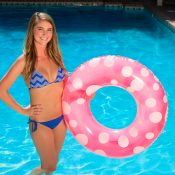 87136 | 36'' Polka Dot Swim Tube - Lifestyle 5