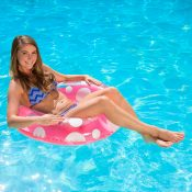 87136 | 36'' Polka Dot Swim Tube - Lifestyle 6