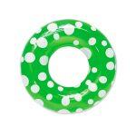 87136 | 36'' Polka Dot Swim Tube - Green