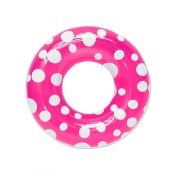 87136 | 36'' Polka Dot Swim Tube - Pink