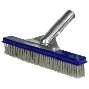 "10"" Aluminum-Back Algae Brush – Stainless Steel Bristles"