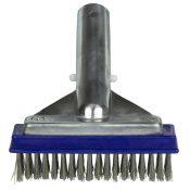 """5"""" Aluminum-Back Algae Brush – Stainless Steel Bristles"""