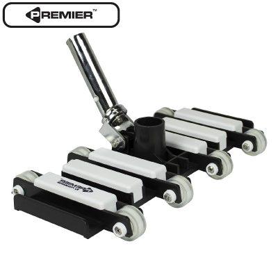 Pro Heavy-Duty Gunite Flex Vacuum (with Deluxe Wheels)