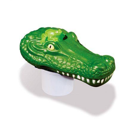 32132   Clori-Critter™ - Alligator Head Chlorine Dispenser