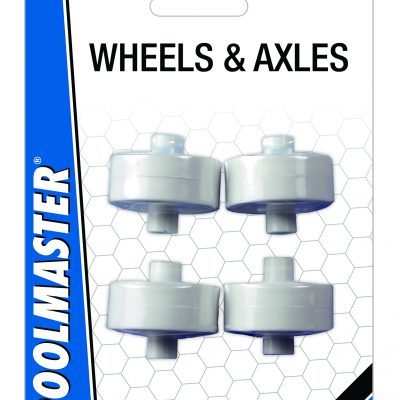 Flex Vacuum ABS Wheels / Axel Set