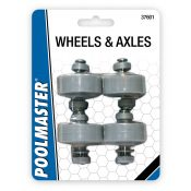 Flex Vacuum ABS Wheels/Axel Set