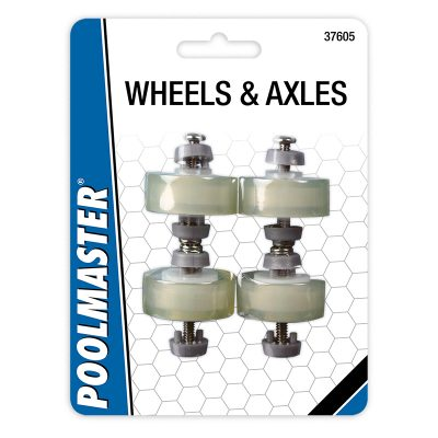 Flex Vacuum Ball-Bearing Urethane Wheel/Axle Set