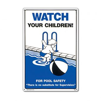 "40363 | 12"" x 18"" Watch Your Children Sign"