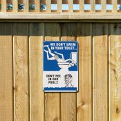 Don't Pee In Our Pool!