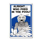 41330 | 12'' x 18'' Alight... Who Peed in the Pool?
